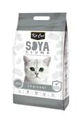 Kit Cat - Наполнитель комкующийся соевый биоразлагаемый (активированный уголь) SoyaClump Soybean Litter Charcoal