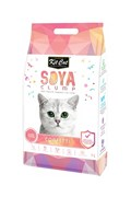Kit Cat - Наполнитель комкующийся соевый биоразлагаемый (конфетти) SoyaClump Soybean Litter Confetti