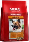 Mera - Сухой полнорационный корм для взрослых собак с повышенным уровнем активности (с птицей) Essential Softdiner