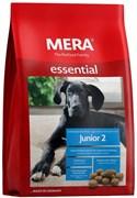 """Mera - Сухой полнорационный корм для щенков крупных пород с 6-ти месяцев до конца периода роста (с птицей) Essential """"Junior 2"""""""