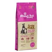 Planet Pet - Сухой корм беззерновой для взрослых собак всех пород (с лососем) Grain Free Salmon Adult