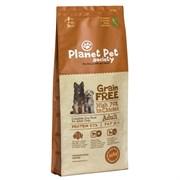 Planet Pet - Сухой корм беззерновой для взрослых собак всех пород (с мясом курицы) Grain Free Chicken For Adult Dogs