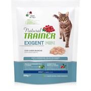 Trainer - Сухой корм для привередливых кошек (со свежим белым мясом) Trainer Natural Exigent Cat with fresh White Meats