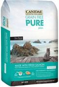 "Canidae - Сухой корм для кошек, беззерновая формула ""Чистое море"" (со свежим лососем) Grain Free Pure Sea with Fresh Salmon"