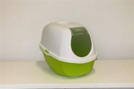 Moderna - Туалет-домик SmartCat с угольным фильтром, 54х40х41см, лимонно-желтый