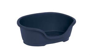 Moderna - Лежак domus пластиковый 80 см, 92х61х26, королевский синий