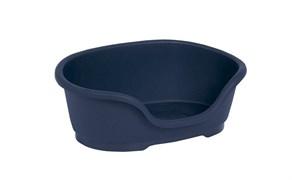 Moderna - Лежак domus пластиковый 50см, 58х38х20, королевский синий