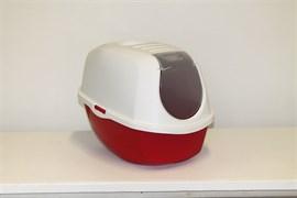 Moderna - Туалет-домик SmartCat с угольным фильтром, 54х40х41см, терракотовый
