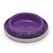 Moderna - Нескользящая миска с защитой от муравьев  Trendy- Друзья навсегда, фиолетовая, 210 мл