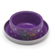 Moderna - Нескользящая миска с защитой от муравьев Trendy - Друзья навсегда, фиолетовая, 350 мл