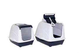 Moderna - Туалет-домик  Jumbo с угольным фильтром, 57х44х41см, черничный