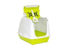 Moderna - Туалет-домик Flip с угольным фильтром, 50х39х37см, салатовый