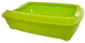Moderna - Туалет-лоток большой с рамкой  artist large + rim, 49х37х13 лимонно-желтый