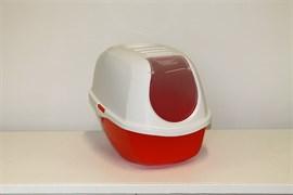 Moderna - Туалет-домик SmartCat с угольным фильтром, 54х40х41см, оранжевый