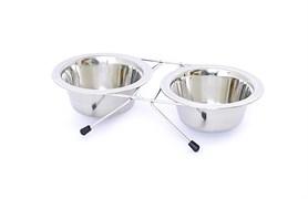Benelux - Миски для собак стальные 2 шт/13 см