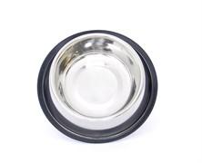 Benelux - Нескользящая стальная миска для собак 17см/24см - 800 мл