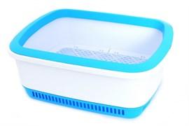 Canada Litter - Кошачий туалет с системой защиты от запаха CatEco (синий)