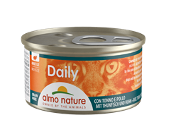 "Almo Nature - Консервы нежный мусс для кошек ""Меню с Тунцом и Курицей"" Daily Menu Mousse Tuna and Chicken"