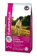 Eukanuba - Сухой корм для энергичных, активных собак при длительных и интенсивных нагрузках (курица) Dog Adult Working & Endurance
