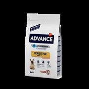 Advance - Сухой корм для собак малых пород с чувствительным пищеварением (лосось и рис) Mini Sensitive