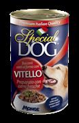 Special Dog - Консервы для собак (с кусочками телятины)