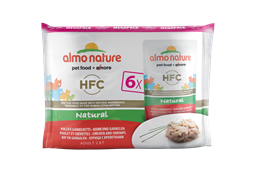 Almo Nature - Паучи для кошек (с Курицей и Креветками) Набор 6 шт. по 55 г Multipack Classic Chicken and Shrimps