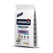 Advance - Сухой корм для вывода шерсти у стерилизованных кошек Sterilized Hairball
