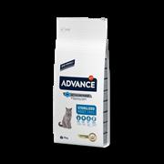Advance - Сухой корм для стерилизованных кошек (с индейкой) Sterilized Turkey