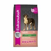 Eukanuba - Сухой корм для взрослых собак всех пород (с лососем и рисом) Dog Adult Salmon & Rice