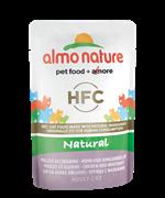 Almo Nature - Паучи для кошек (с Курицей и Сардинками) Classic Nature Chicken and White Bait
