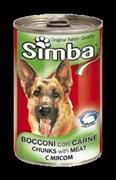Simba Dog - Консервы для собак (кусочки мяса)