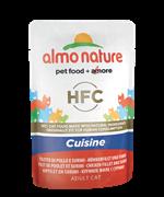 Almo Nature - Паучи для кошек (с Куриным филе и Крабовыми палочками) Classic Cuisine Chicken Fillet and Surimi