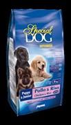 Special Dog - Сухой корм для щенков (курица с рисом)