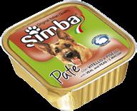 Simba Dog - Консервы для собак (паштет с мясом и горохом)