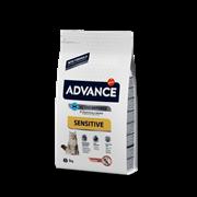 Advance - Сухой корм для кошек с чувствительным пищеварением (с лососем и рисом) Adult Salmon Sensitive