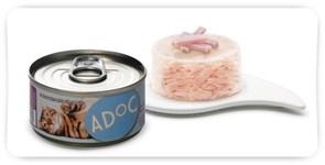 ADOC консервы д/кошек (ТУНЕЦ+МАНГО)