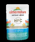 Almo Nature - Паучи для кастрированных котов и кошек (с пятнистым Индо-Тихоокеанским тунцом) Classic Light Eastern Little Tuna