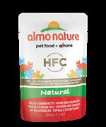 Almo Nature - Паучи для кошек (с Курицей и Креветками) Classic Nature Chicken and Shrimps