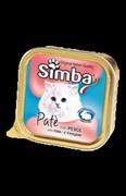 Simba Cat - Консервы для кошек (паштет из рыбы)