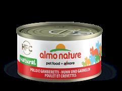 Almo Nature - Консервы для кошек (с курицей и креветками, 75% мяса) Legend Adult Cat Chicken & Shrimps