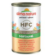 Almo Nature - Консервы для кошек (с Тунцом и Креветками) Classic Adult Cat Tuna and Shrimps