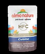 Almo Nature - Паучи для кошек (с Тунцом и Камбалой) Classic Cuisine Tuna and Sole Fillets