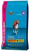 Eukanuba - Сухой корм для зрелых и пожилых собак средних пород (курица) Dog Mature & Senior Medium Breed