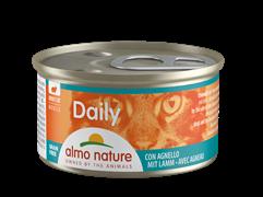 """Almo Nature - Консервы нежный мусс для кошек """"Меню с Ягненком"""" Daily Menu Mousse with Lamb"""