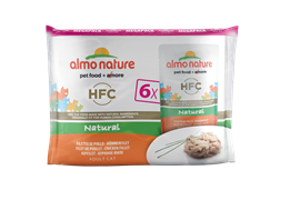 "Almo Nature - Паучи для кошек ""Куриное филе"" (Набор 6 шт. по 55 г) Multipack Classic Chicken Fillet"