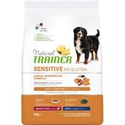 Trainer - Сухой корм для взрослых собак средних и крупных пород (с лососем) Natural Sensitive No Gluten Medium/Maxi Adult Salmon
