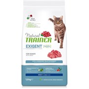 Trainer - Сухой корм для привередливых кошек (с говядиной и свежей курицей) Trainer Natural Exigent Cat with Beef & Fresh Chicken