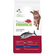 Trainer - Сухой корм для взрослых кошек (с тунцом) Natural Adult Tuna