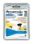 Frontline (Merial) - Спот от блох и клещей для собак 2-10 кг, 1 пипетка, Spot On S
