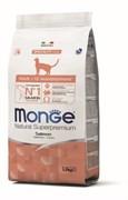 Monge - Сухой корм для кошек (с лососем)